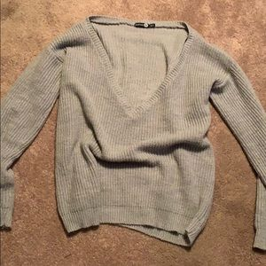 Oversized sweater from boohoo